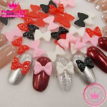 New Arrivals About 100pcs 10*12mm Nail Arts Mixed Colors Resin Bowknot DIY Nail Polish Nail Supplies Grade A 290184(China (Mainland))