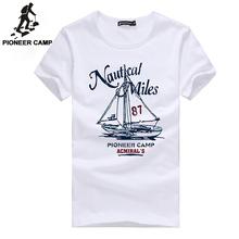 Pioneer Camp 2017 новое поступление мужская футболка с коротком рукавом летняя футболка 100% хлопок высококачественый материал 522010(China (Mainland))