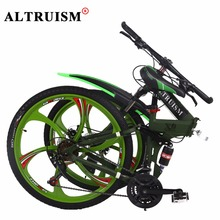 Buy Altruism X9 Bicycles Aluminum Mountain Bike 26 Inch Double Disc Brake Bicycles 24 Young Men Women Mountain Bicycle Speed Bikes for $311.98 in AliExpress store
