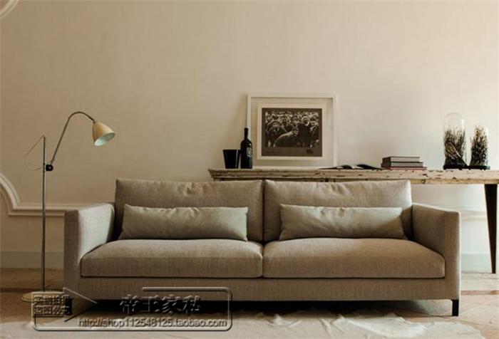 Buy Spot American Linen Fabric Sofa Small Apartment Living Room Sofa
