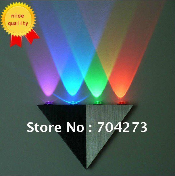 4W led wall lamp & bar lamp & energy-saving light & aisle light free shipping