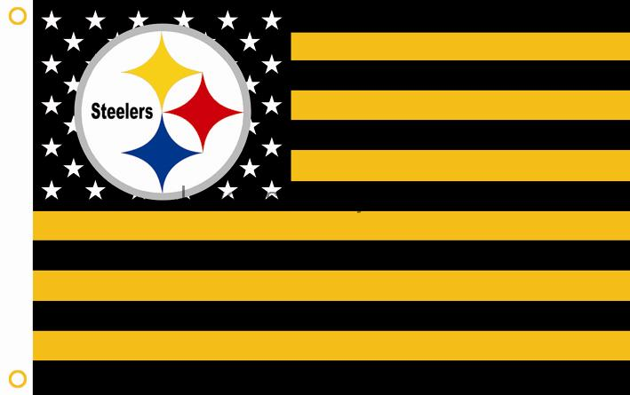 Pittsburgh Steelers NFL Premium Team Flag 3ft x 5ft-in