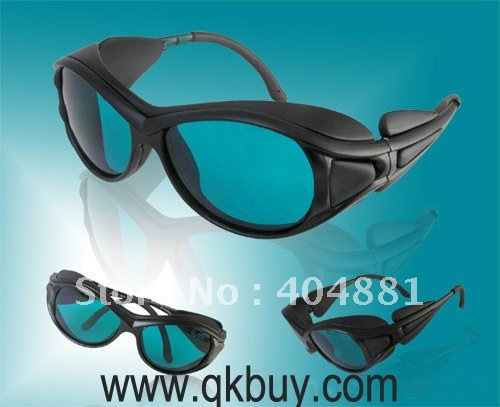 laser safety glasses 190-380nm &amp; 600-760nm for 266, 636, 650, 660nm, 755nm O.D 4 + CE<br><br>Aliexpress