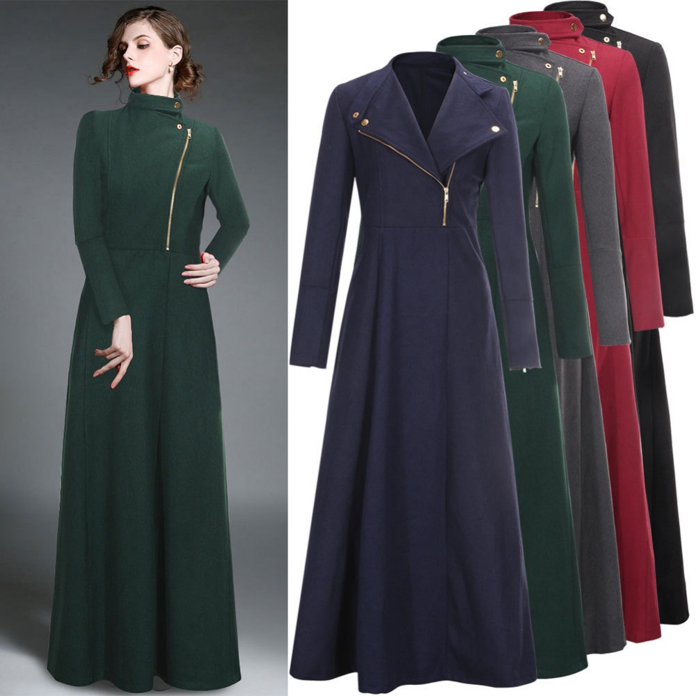 Womens Long Coats Photo Album - Reikian