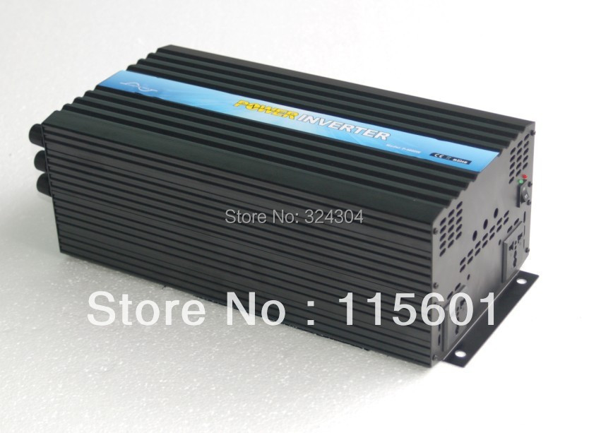 Solar System Inverter 24v to 240v 4000w dc to ac (500pcs per month)(China (Mainland))