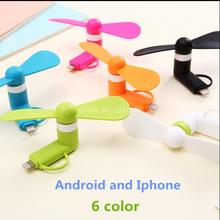 Buy 100% tested Mini 2 1 Portable Micro USB Fan iPhone 5 6 hand Fans Samsung HTC Sony Android OTG Smartphones USB Gadget for $1.29 in AliExpress store
