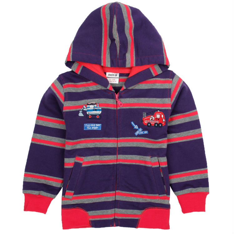 new 2014 Nova cotton children hoodies baby boys fashion outwear with zipper kids jacket &amp; coat printing cars clothing set A2028#<br><br>Aliexpress