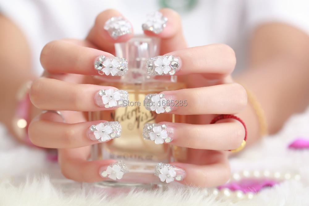 iks-2015-fake-nails-french-acrylic-acrylic-tips-false ...