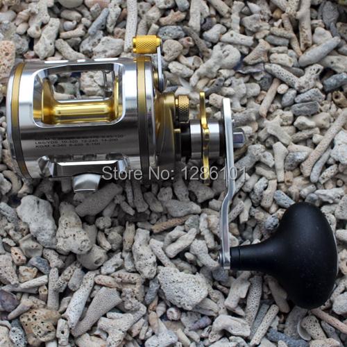 Fishing Baitcasting Reel Bait Caster CT340 5+1BB Ball Bearing For Salt Water ( Standard ) Fishing Reel Aluminum Spool High Speed