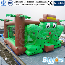 Frog Bounce House Inflatable Mini Jumper Bouncer Trampoline Toys For Kids(China (Mainland))