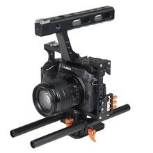 Buy YELANGU 15mm Rod Rig Camera Cage DSLR Stabilizer Panasonic Lumix DMC-GH4 GH4 GH3 G7 SONY A6300 A6000 A7 A7S A7R A7RII A7SII for $70.15 in AliExpress store