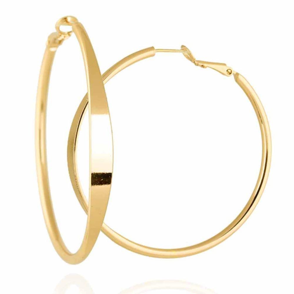 New Fashion Elegant Vogue Gold Plated Extra Large Back ...