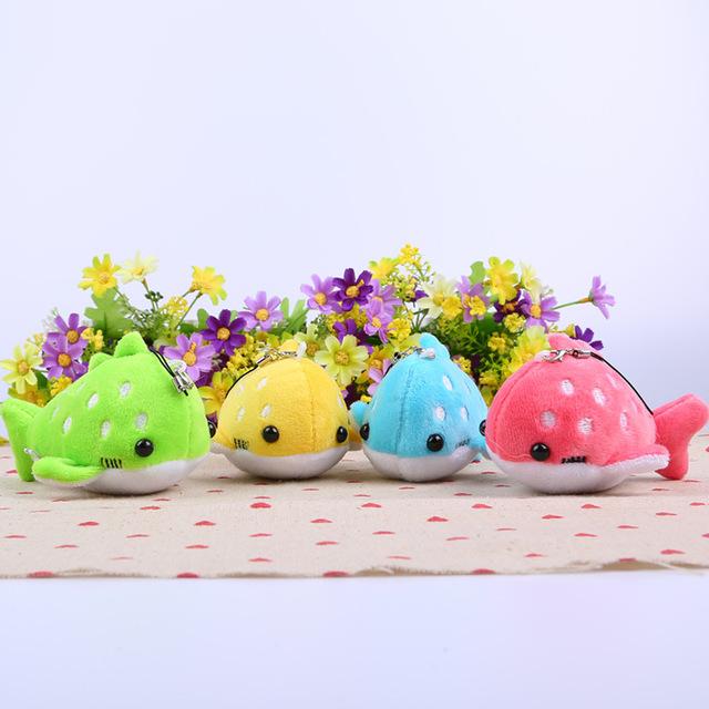 10 см милые плюшевые кит мягкие игрушки животных дорогой кукла новорожденных детей дети подарок на день рождения бесплатная доставка BL1042