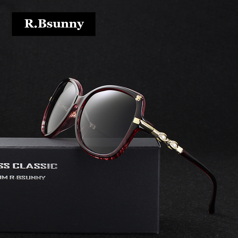 Fashion Women Sunglasses Polarized 2017 High quality Luxury Pearl legs Flowers Decorated Big frame Glasses female drive goggles(China (Mainland))