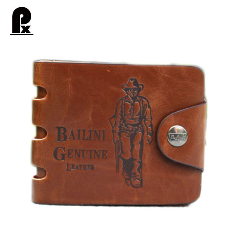 New arrival Brown cowboy men wallets mens wallet genuine leather purses 6 styles high quality Famous brand lowest price cudzan<br><br>Aliexpress