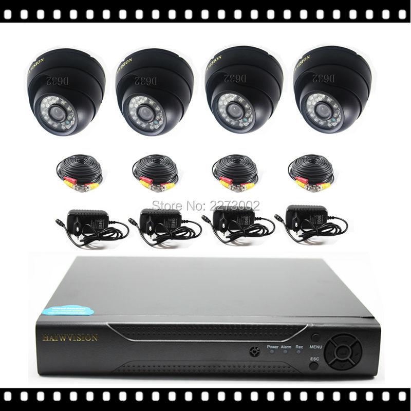 HD 720P 960P 1080P 4CH AHD DVR Kit 4Pcs 2500TVL IR Outdoor CCTV Camera 2MP Video Surveillacne System EU/US/UK/AU Plug Optional(China (Mainland))