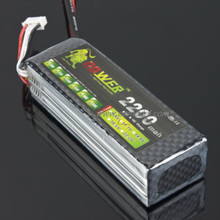 Lion 11.1V 2200mAh 30C Lipo Battery for 450 RC Helicopter -US Shipping