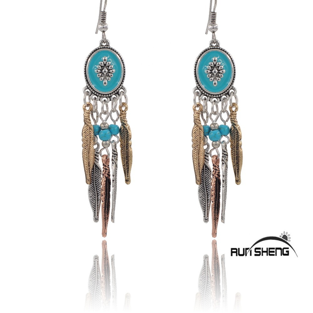 Fashion jewelry metal retro vintage silver plated bohemian for Vintage costume jewelry websites