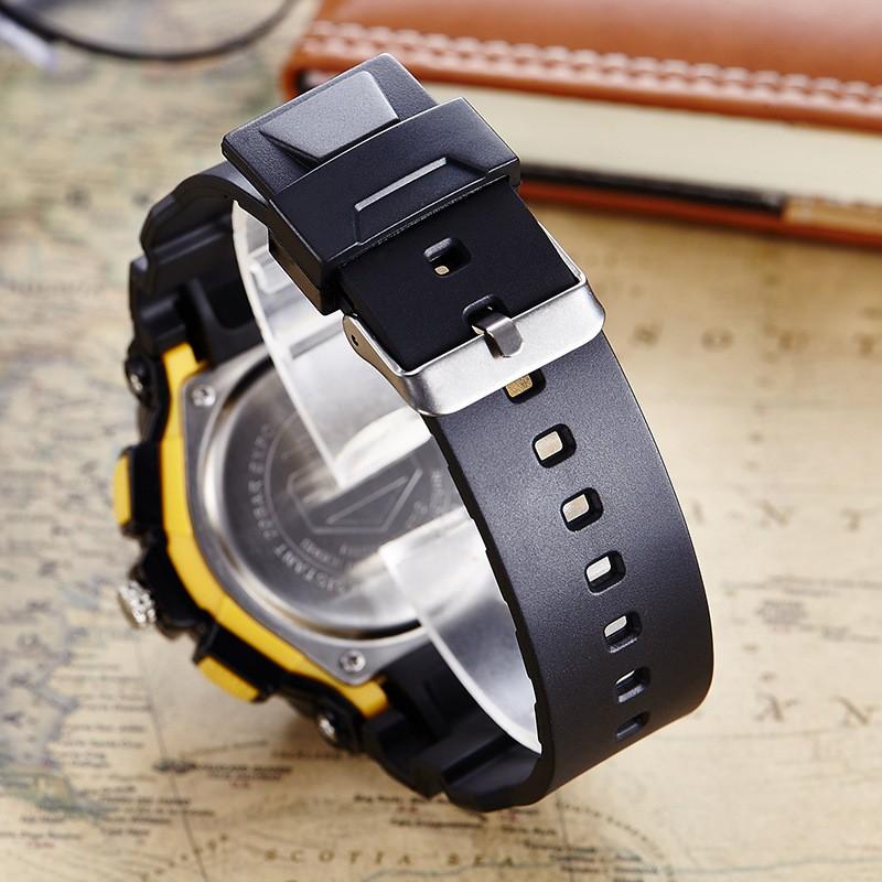 Новый Люксовый Бренд Мужской Спортивные Часы Погружения Цифровой СВЕТОДИОДНЫЙ Военные Часы Мужчины Моды Случайные Электроника Наручные Часы Горячая Часы
