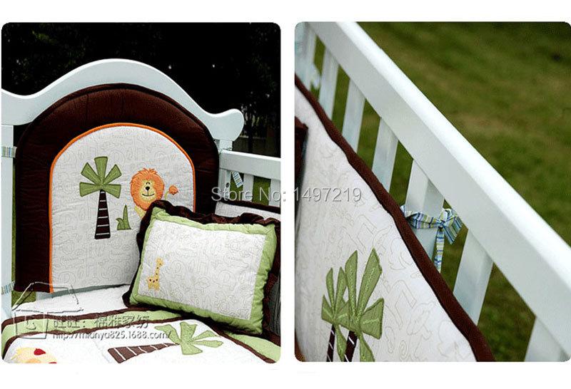 PH034 crib child bedding set  (4)