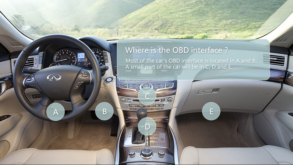 Hot Sale ELM 327 V 1.5 bluetooth OBD 2 BT Works On Android  IOS Code Reader Bluetooth Tool OBD2 Mini Scanner Car diagnostic-tool
