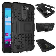 Buy LG K7 Case M1 Tribute 5 X210DS Silicone Hard Phone Cases LG K7 Heavy Duty Armor Shockproof Hybrid Rugged Rubber Cover for $3.27 in AliExpress store