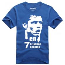 DREAK Summer World Cup Cristiano Ronaldo men's T-shirt man t shirt summer 2016 child football t-shirt survetement footbal