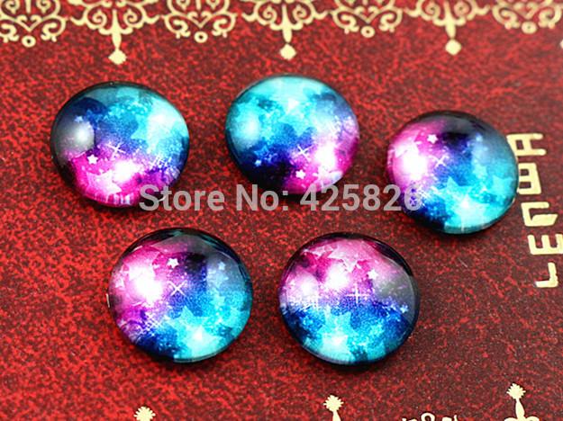 Hot Sale 10pcs 12mm Handmade Photo Glass Cabochons (Nebula)  HD-12108  Free Shipping<br><br>Aliexpress