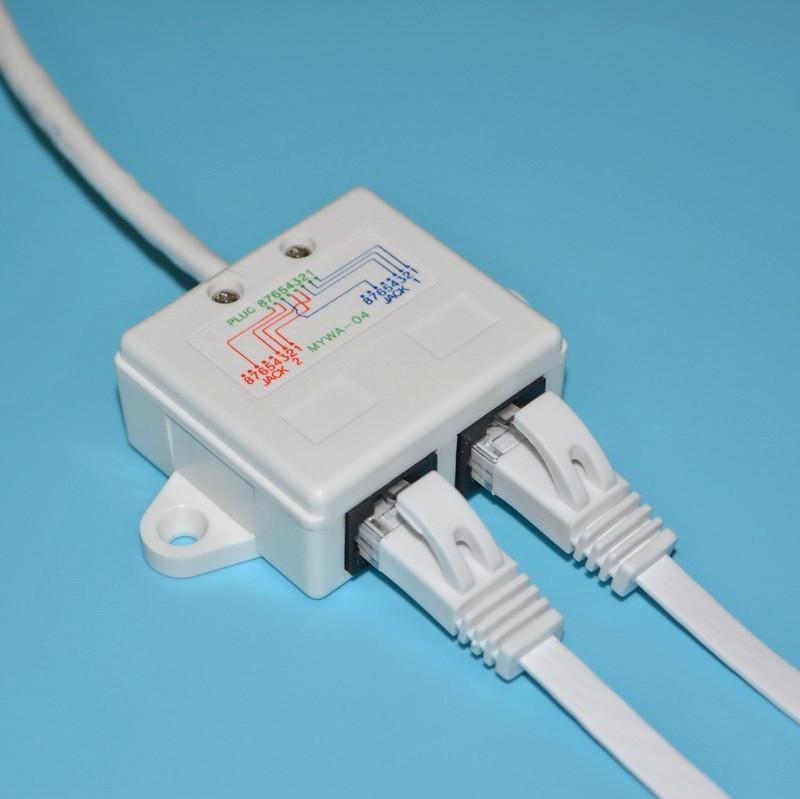 Wholesale Ethernet Extension Cable Network Splitter Rj45 Connector 1 ...