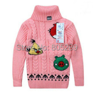 2014 New Children 39 S Turtleneck Sweaters Baby Boys Girls