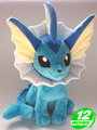 Free Shipping Japanese Anime Pokemon Plush Toys 12 Kawaii Vaporeon Dolls Stuffed Toys Christmas Birthday Gifts
