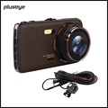 Authentic 1296P Full HD Car DVR 4 0 Inch IPS High Definition Dash Cam Dual Lens