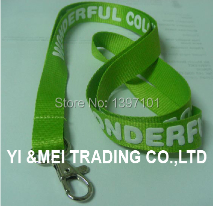 Promotional custom lanyards no minimum order with id card holder,different material and printing method for your logo(China (Mainland))