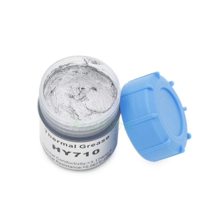 20g Silver Compound thermal conductive Silicone grease paste for CPU GPU VGA LED Chipset and other PC components Chipset Cooling(China (Mainland))