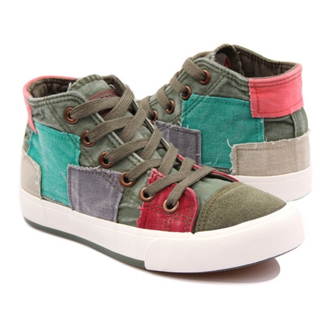 all match shoes high canvas shoes fashion