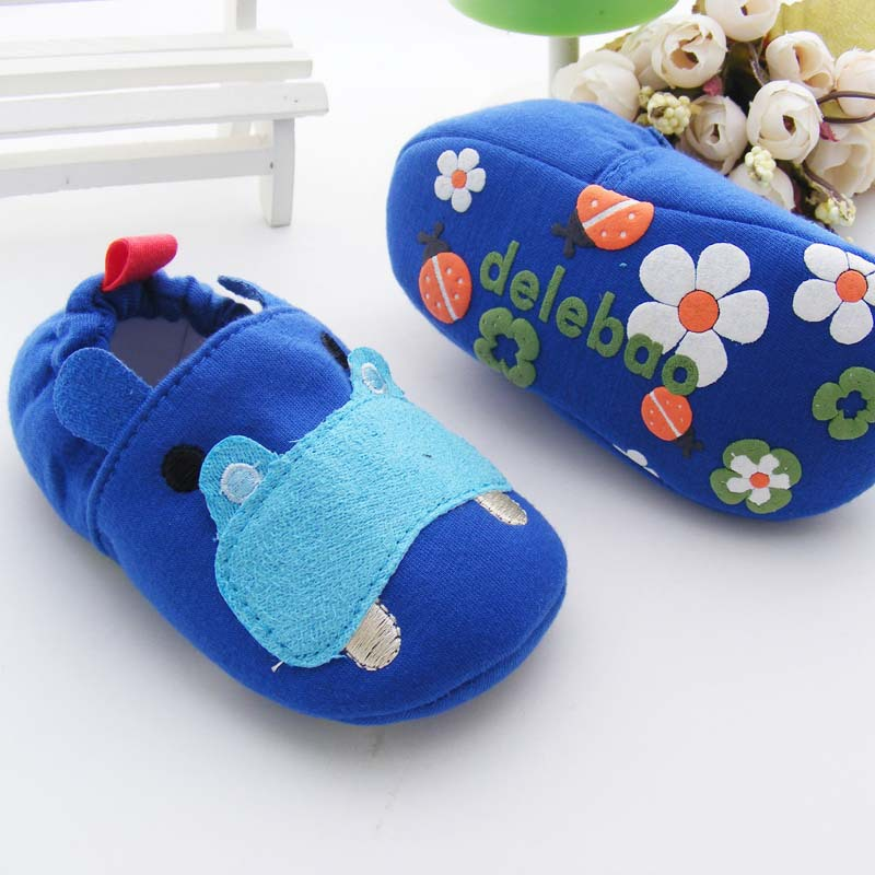 Fashion Spring Auytumn Kids Toddler Shoes First Walkers Cute Animal Pattern Shoes Baby Anti-slip Newborn Shoes Cloth Shoes(China (Mainland))