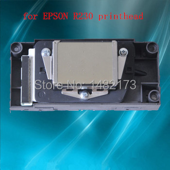 Free shipping Original Stylus Photo Printers parts for epson R230 printer head R230 printhead(China (Mainland))