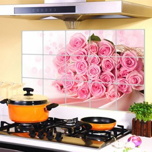 JJ-ZS005 75*45cm Kitchen Wall Stickers Foil oil sticker Decal Home Decor Art Accessories Decorations Supplies items Products(China (Mainland))