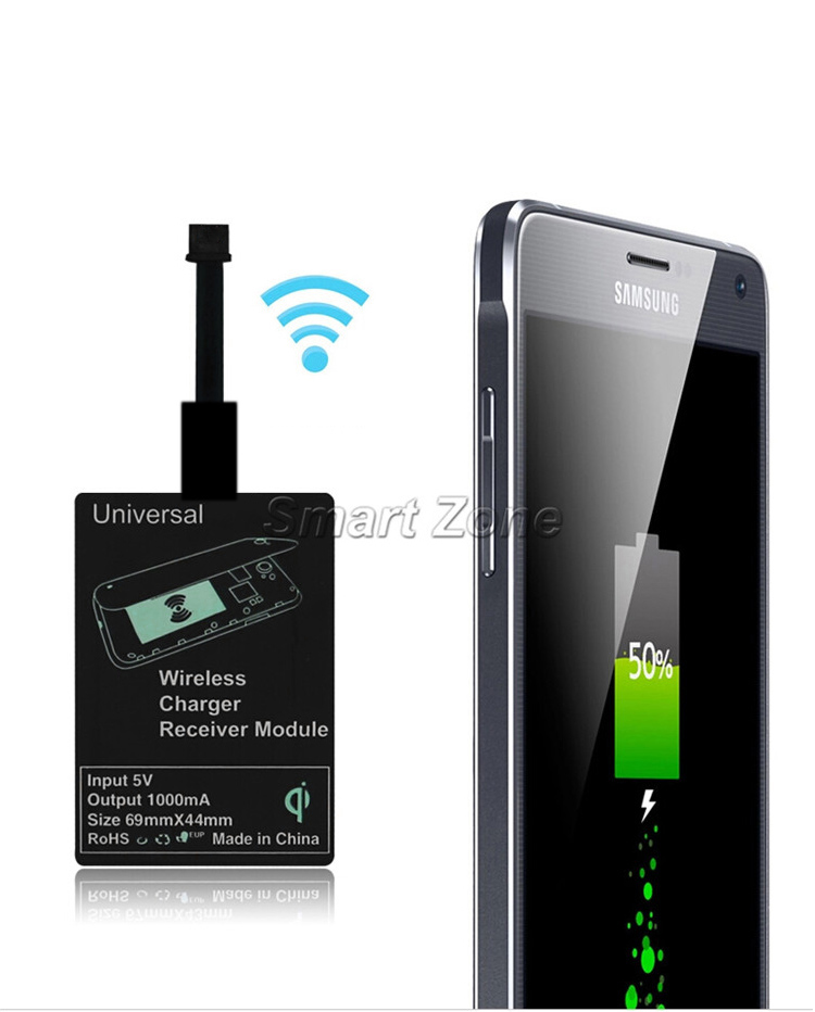 send the maxfield universal micro usb qi wireless charging adapter 3 Blogger