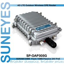 SunEyes  SP-OAP305G 300Mbs 4G LTE Outdoor Wireless CPE Router Wifi AP Repeater FDD LTE, TDD LTE, HSPA+/HSPA/UMTS, TD-SCDMA (China (Mainland))