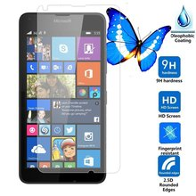 2.5D Arc Edge 9H Hardness Tempered Glass Screen Protector For Nokia 640 Protective Film  Free Shipping