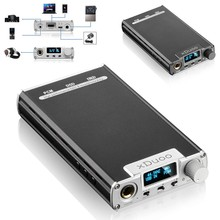 Best Price XDuoo XD-05 Portable Audio AMP DAC Headphone Amplifier Support Native DSD Decoding 32bit/384khz with HD OLED Display(China (Mainland))