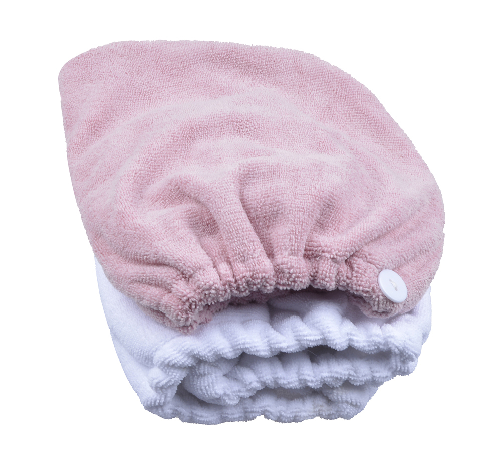 Large Size 1-pack Microfiber Hair Turban Wraps Head Hat Spa Cap Ultra Absorbent Fast Drying(China (Mainland))
