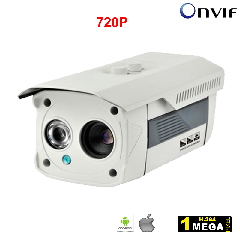 2014 New 720P Box IP Camera IR Bullet H.264 1/4 CMOS 6mm Lens Night Vision P2P 1.0MP HD Network Security Onvif Camera from HOKVS<br><br>Aliexpress
