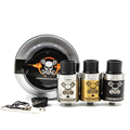 Newest Underground RDA Atomizers New Base None Post RDA More Space Peek Insulator Black Gold SS