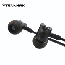 TENNMAK DIY IE800 IE80 IE8 HiFi in-ear ceramic earphone earbud with microphone & remote(China (Mainland))