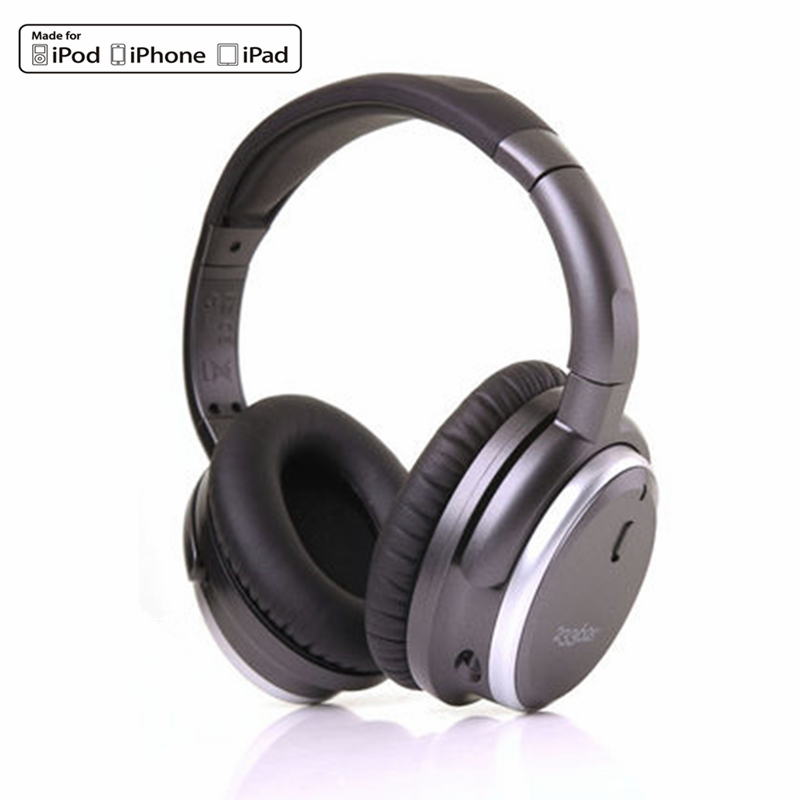 Active Acoustic Noise Cancelling Headphones 233621 H501 Blackbox Noise Reduction HiFi Music Headset Detachable Cable With Mic(China (Mainland))