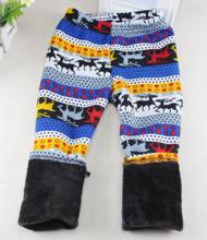 Special offer Autumn Winter Children s 3 12 Year Cotton Warm Pant All Match Fleece thickening