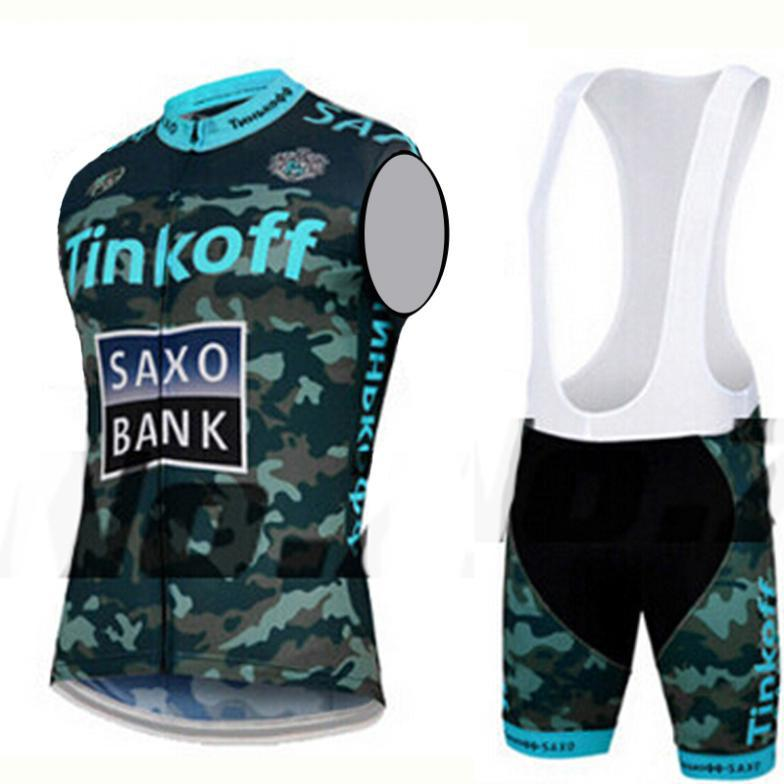 3 Colors 2015 Sleeveless Breathable Ropa Ciclismo With Quick-Dry Bib GEL Bicycle Pants /Cycling Jerseys/Mans Mountain Bike Vest(China (Mainland))