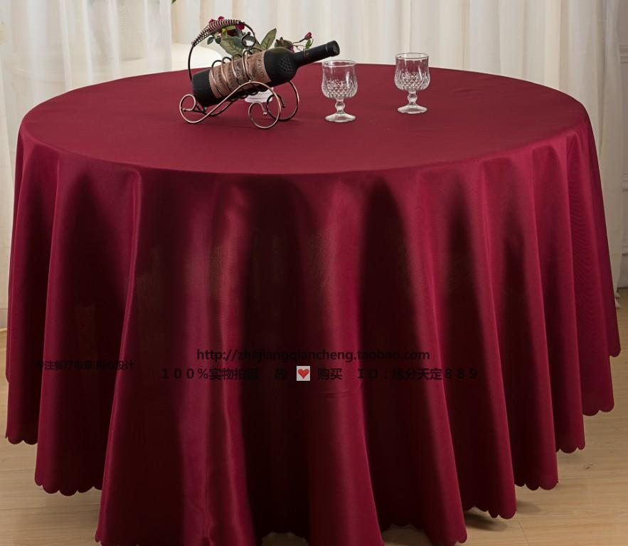 Custom Restaurant With Tablecloths, Conference Using A Circular Tablecloth, Table Cloth Is Not Waterproof White Table Cloths(China (Mainland))